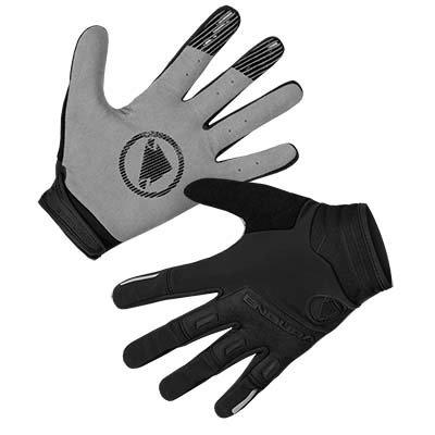 Endura rukavice Singletrack Windproof Black XL