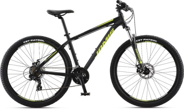 "Jamis bicikl TrailX A2 27.5"" 17"" CRNI 2019."