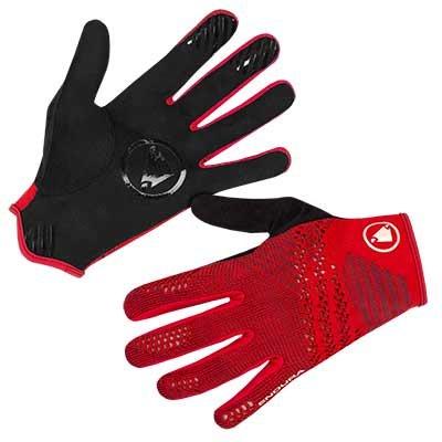 Endura rukavice Single Track Lite Knit crvene XL