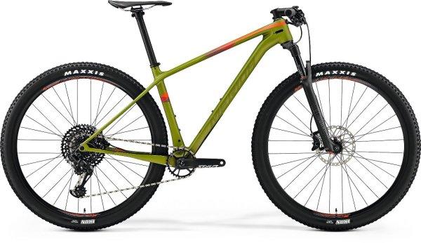 "Merida bicikl Big.Nine 6000 CF-3 Green L (19"") 2019."