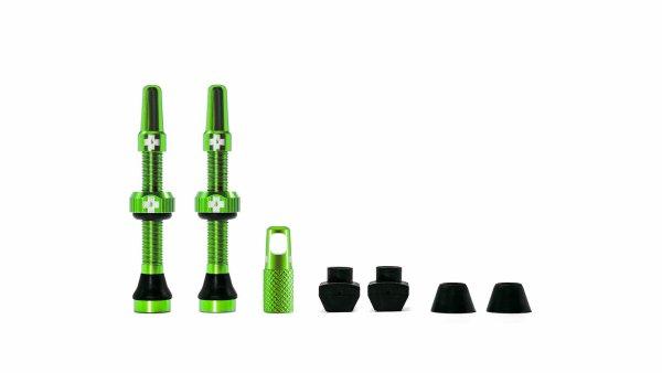 Muc-Off tubeless ventili zeleni (2 kom)
