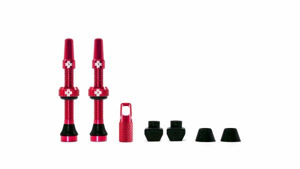 Muc-Off tubeless ventili crveni (2 kom)
