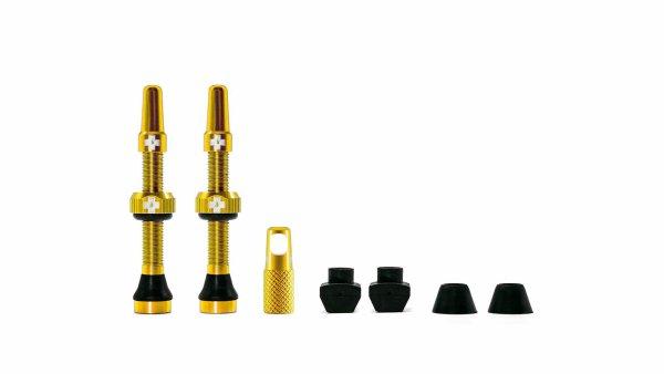 Muc-Off tubeless ventili zlatni (2 kom)