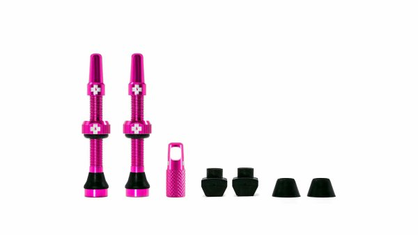Muc-Off tubeless ventili rozi (2 kom)