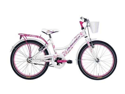"""Adriatica dječiji bicikl ženski 20"""" bjelo/rozi"""