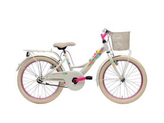 """Adriatica dječji bicikl ženski 20"""" bjelo/rozi"""
