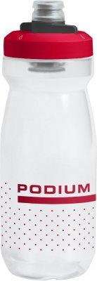 Bidon Camelbak PODIUM+ 0,62l clear/red
