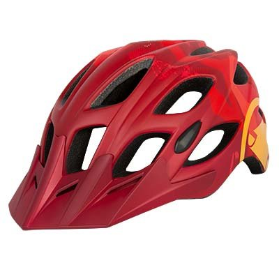 Endura kaciga Hummvee Red L-XL