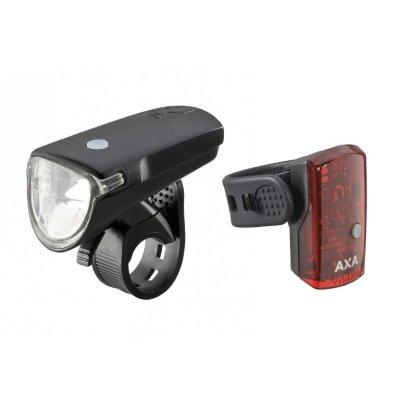 Svjetlo prednje/zadnje AXA Greenline 40 USB
