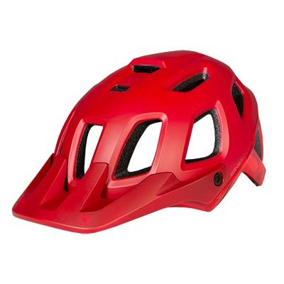 Endura kaciga Singletrack II Red M-L