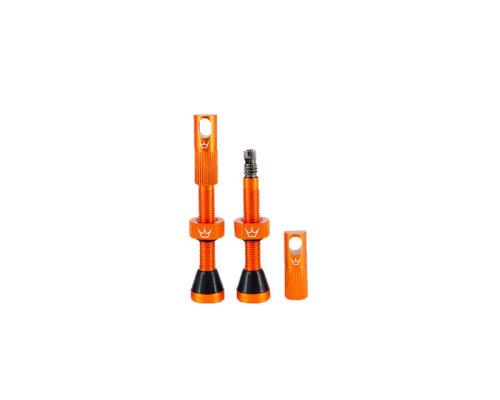 Peaty's Tubeless ventil 42mm Orange