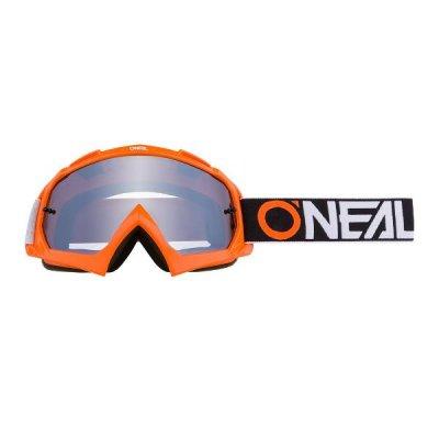 Goggle O'Neal B-10 TWOFACE orange/miror-silver