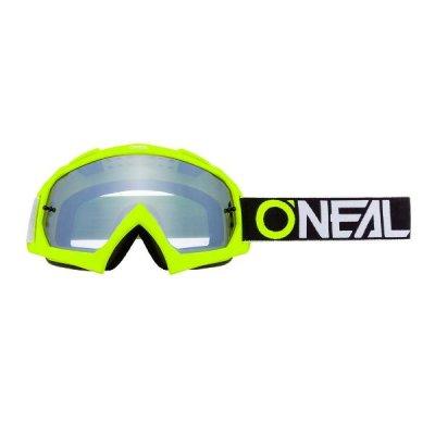 Goggle O'Neal B-10 TWOFACE yellow/miror-silver