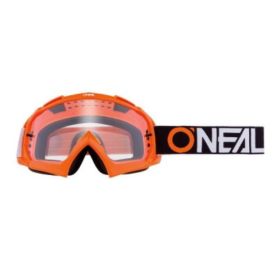 Goggle O'Neal B-10 TWOFACE orange/clear
