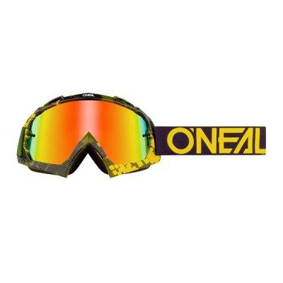 Goggle O'Neal B-10 PIXEL Yellow/Green-Radium