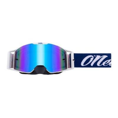 Goggle O'Neal B-30 RESEDA red-blue/radium-blue