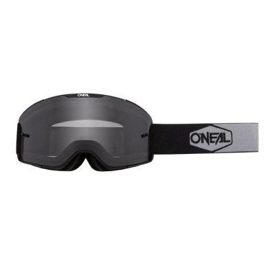 Goggle O'Neal B-20 PLAIN black/white-grey