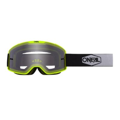 Goggle O'Neal B-20 PLAIN yellow/black-grey