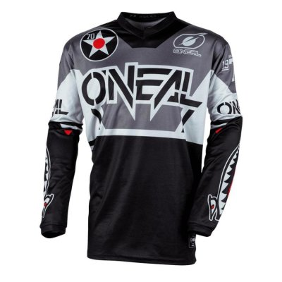 Dres ONeal Element WARHAWK Black/Grey L