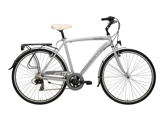 Adriatica bicikl City 3 muški 6-br sivi 58cm
