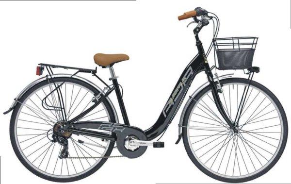 "Adriatica bicikl Relax 28"" Alu 6-br CRNI+košara"