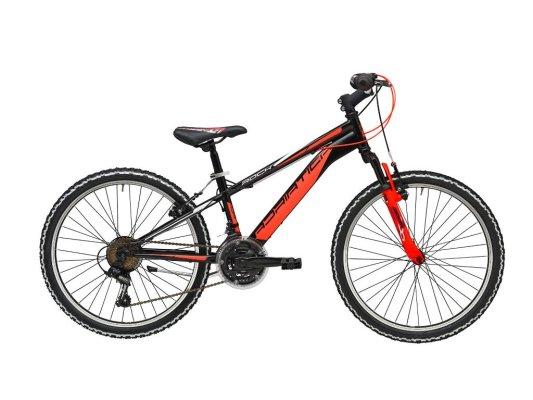 """Adriatica dječji bicikl ROCK 24"""" crni/narančasti"""