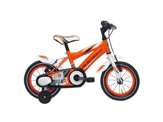 """Adriatica dječiji bicikl muški 14"""" narančasti"""