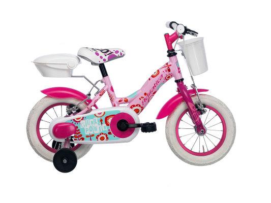 """Adriatica dječiji bicikl ženski 14"""" rozi"""