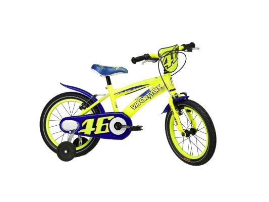 """Adriatica dječiji bicikl muški VR46 16"""" žuti"""
