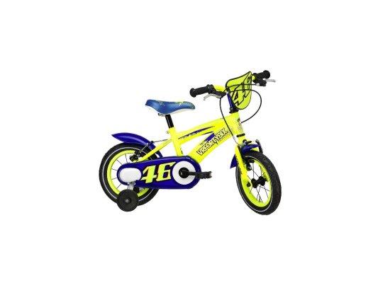 """Adriatica dječji bicikl muški VR46 12"""" žuti"""