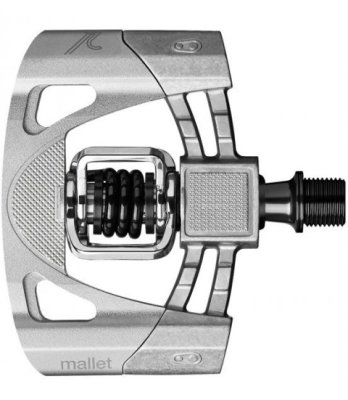 Pedale Crank Brothers Mallet 2 Raw/Silver