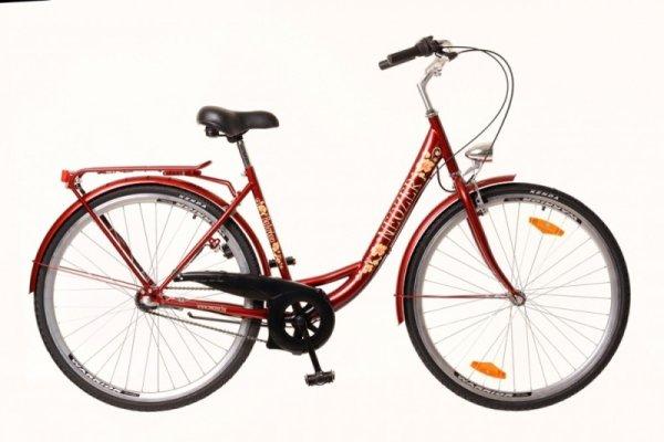 "Neuzer bicikl Balaton 26"" Nexus-3 18"" bordo"