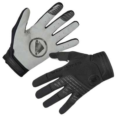 Endura rukavice Single Track Black L