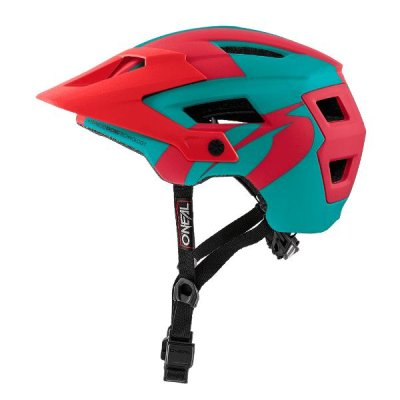 Kaciga Oneal Defender 2.0 Solid  Teal/Red XS/M (54/58 cm)