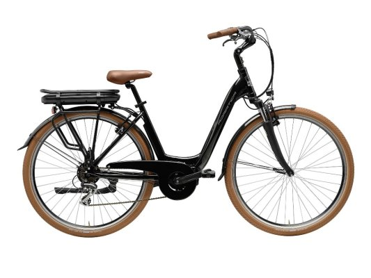 Adriatica Elektrobicikl E-bike NEW AGE Lady CRNI