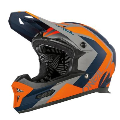 Kaciga Oneal Fury RL RAPID blue/orange XL (61-62 cm)