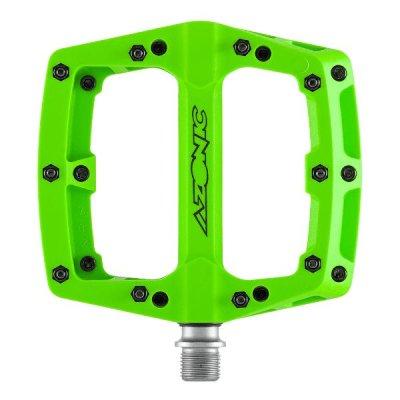 Pedale Azonic Blaze II Neon Green