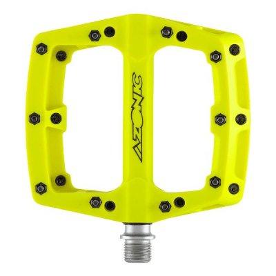 Pedale Azonic Blaze II Neon Yellow