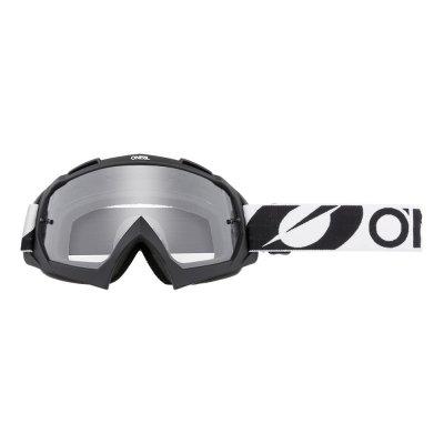 Goggle O'Neal B-10 TWOFACE black clear
