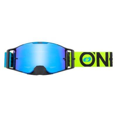 Goggle O'Neal B-30 BOLD blue-neon/radium-blue