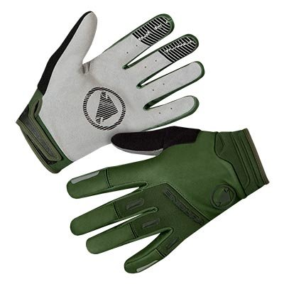 Endura rukavice Singletrack Windproof Green XL