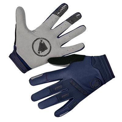 Endura rukavice Singletrack Windproof Navy XL