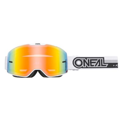 Goggle Oneal B-20 PROXY white/black-radium red