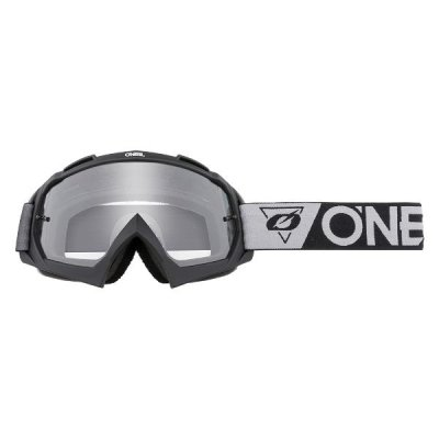Goggle O'Neal B-10 SPEEDMETAL Black/Gray/Clear