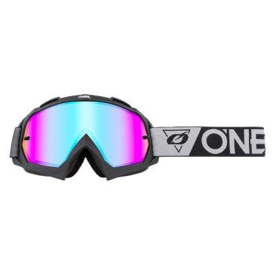 Goggle O'Neal B-10 SPEEDMETAL Black/Gray/Radium