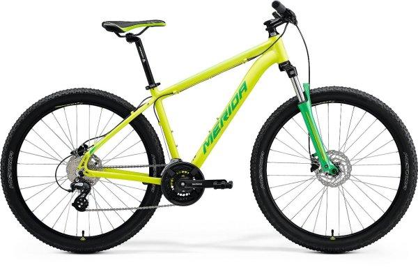 "Merida bicikl Big.Seven 15 M(17"") Lime/Green 2021."