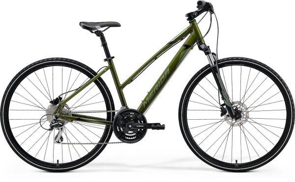Merida bicikl Crossway 20-D Lady L(54cm) Green 2021.
