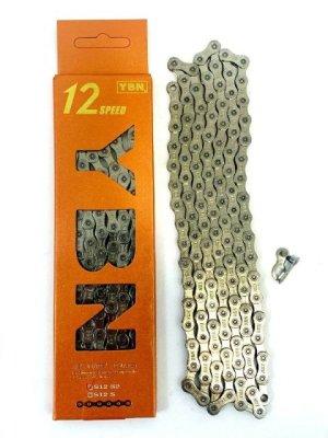 Lanac 12-brzina YBN IB-S12-S2 NP-Silver 126-karika
