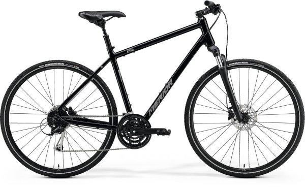 Merida bicikl Crossway 100 M(51cm) Black 2021.