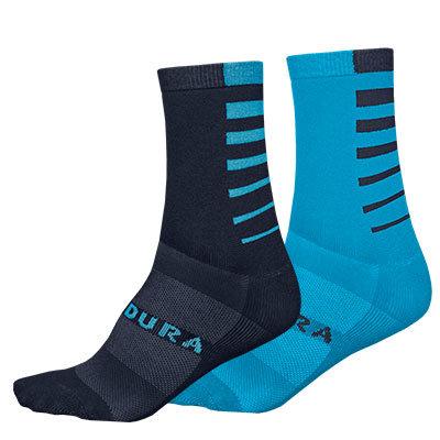 Endura čarape CoolMax Stripe Blue L-XL